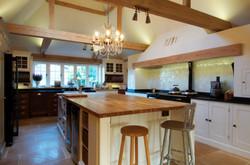 Oak Beam Kitchen Extension