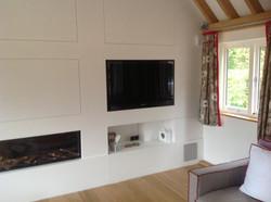 Hidden TV Wall