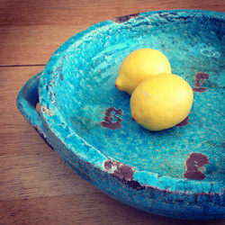Beautiful Greek Bowl & Lemons