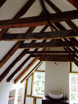 Restored and Renovated Attic Space