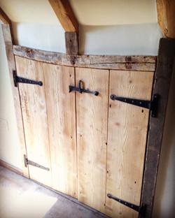 Bespoke Oak Cupboards