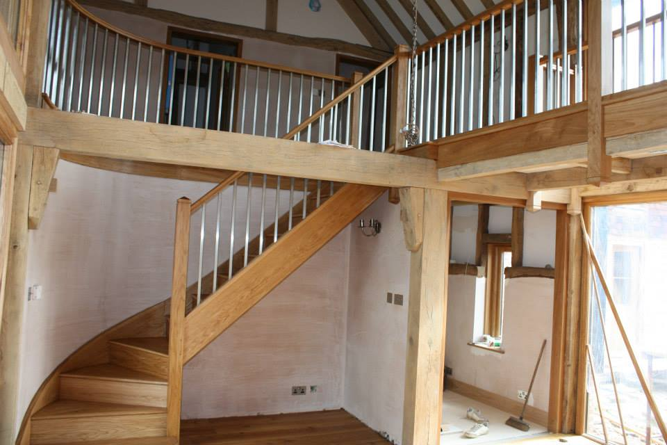 Restored Oak Beams