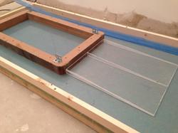Bespoke concrete kitchen work surfac