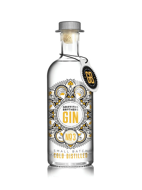 Griffiths Brothers Gin No3 (70cl, 44%)