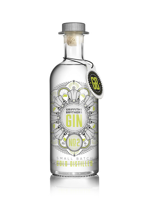 Griffiths Brothers Gin No2 – 70cl