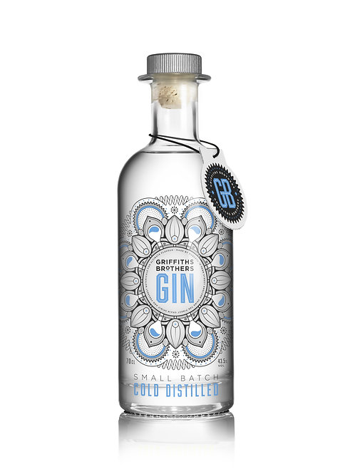 Griffiths Brothers Original Gin (70cl, 43.5%)