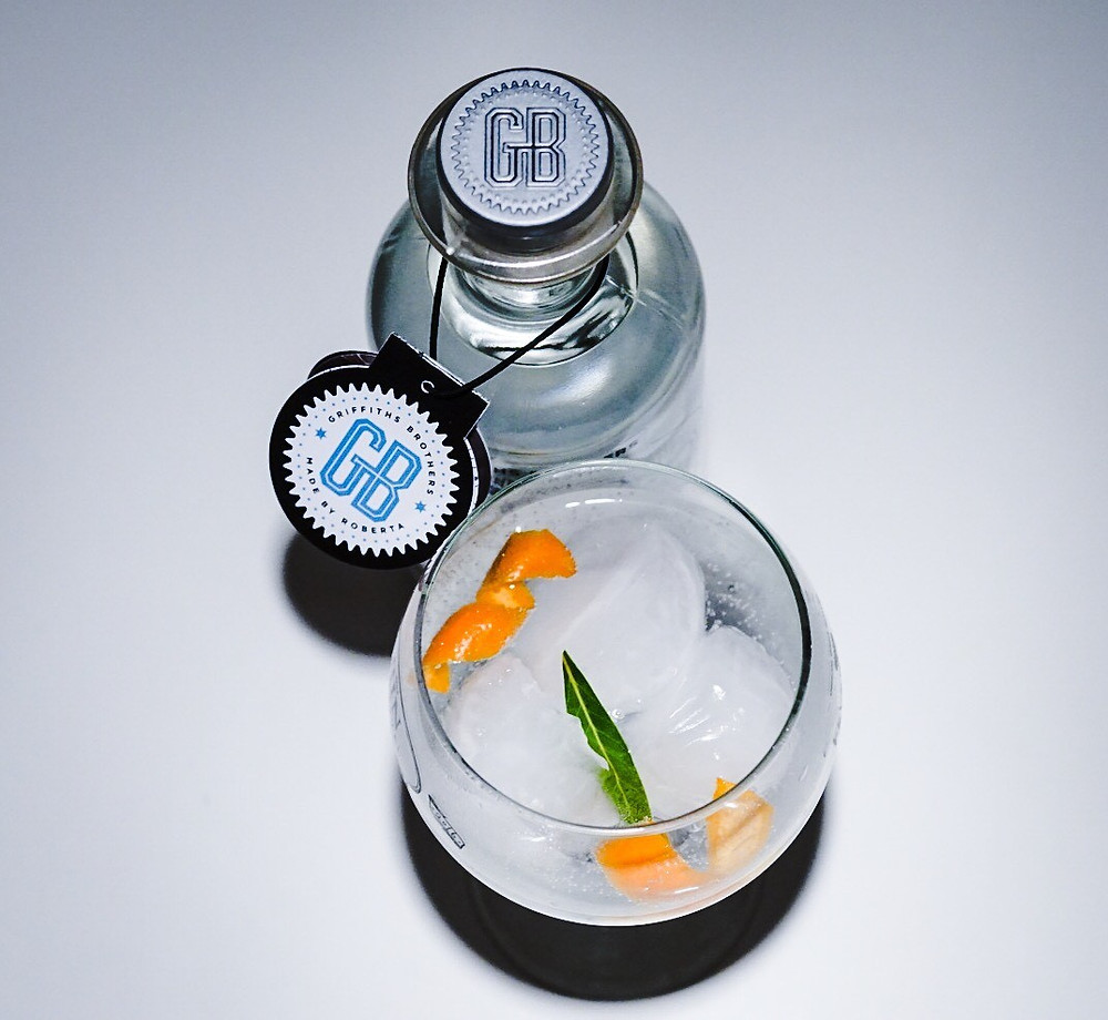 Griffiths Brothers Gin now serving at the Squirrel pub Penn Street and the Old Queens Head Penn