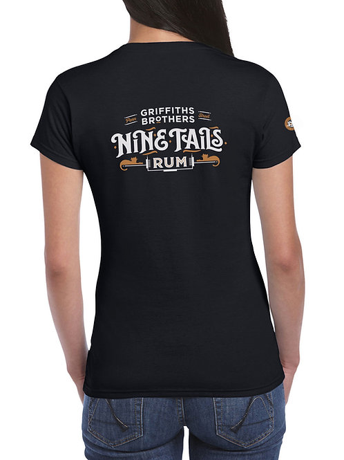 Nine Tails T-shirt Black