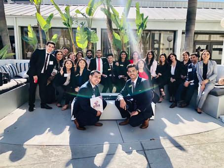 Delta Sigma Pi LEAD Trip to Irvine, California