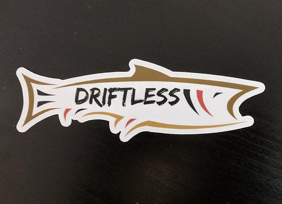 """Driftless Sticker - 6"""" Length"""
