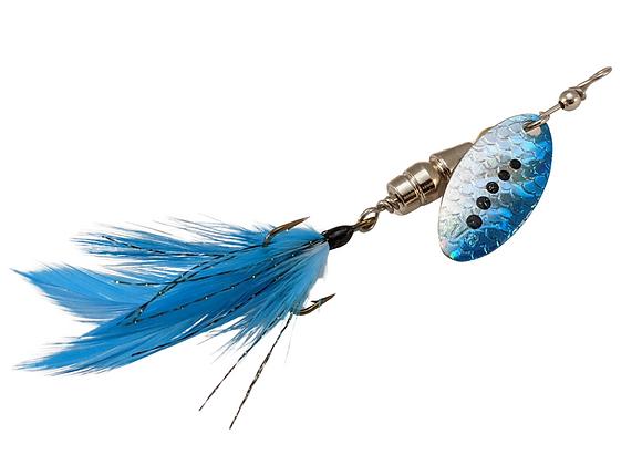 Signature Series - Feathered Blue Blazes - Size 2 - 1/6 oz.