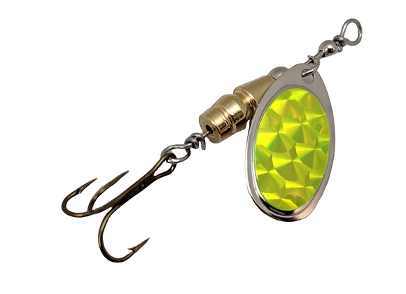 Specialty Series - Chartreuse Hologram - Size 2 - 1/6 oz.