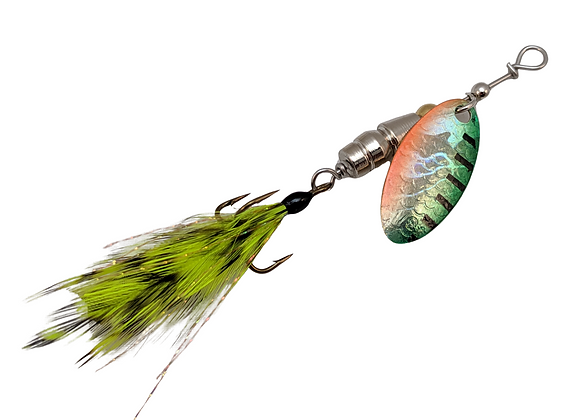 Signature Series -Feathered Firetiger - Size 2 - 1/6 oz.