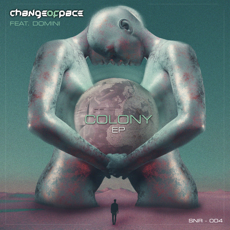 Shadow Net Recordings Change of Pace feat. Domini // Colony EP