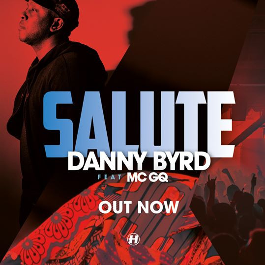 Danny Byrd - Salute (ft. MC GQ).         BBC 1Danny Byrd's Live Mini Mix, in The Rave Lounge. I