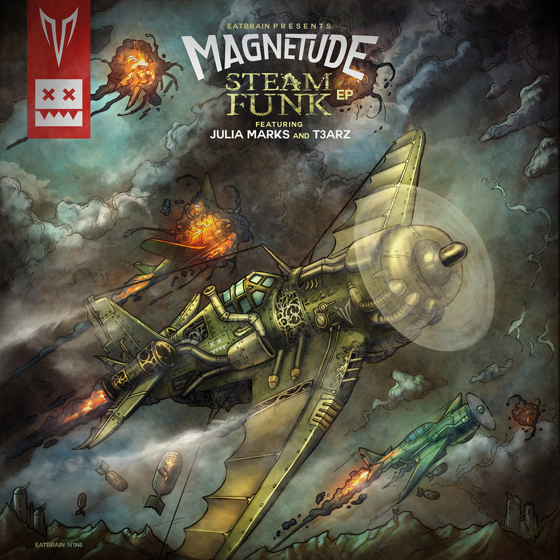 EATBRAIN / Magnetude - SteamFunk EP