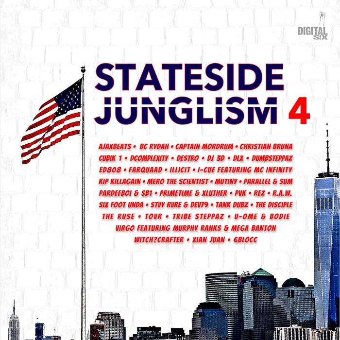 VARIOUS STATESIDE JUNGLISM 4 DIGITAL 6