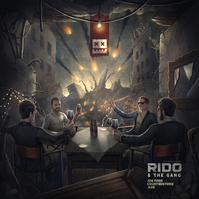 Rido feat. Jade, Counterstrike & Joe Ford Release // Rido & The Gang EP Label // Eatbrain Re