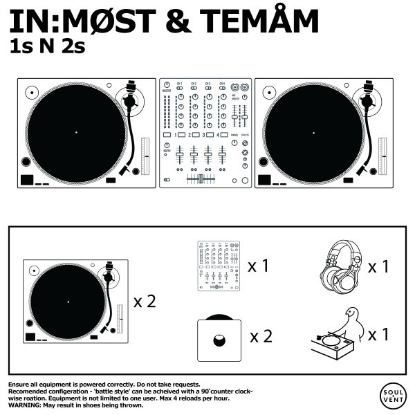 In:Most & Temam - 1s N 2s Ben Rolo, In:Most Soulvent Records