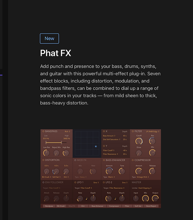 Logic Pro X 10 4 release notes // Learn about Logic Pro X