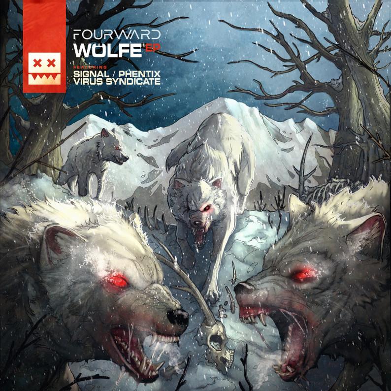 Eatbrain / Fourward - Wölfe EP / Locked Concept / Volatile Cycle & Barbarix - Relic / Integral A