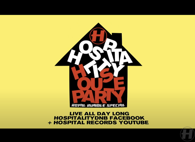 Hospitality House Party: Royal Rumble Special 08.05.20//8 hours of Bass.