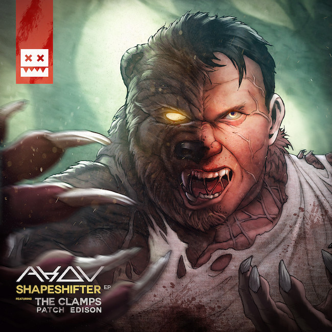SHAPESHIFTER EP AKOV, PATCH EDISON, THE CLAMPS