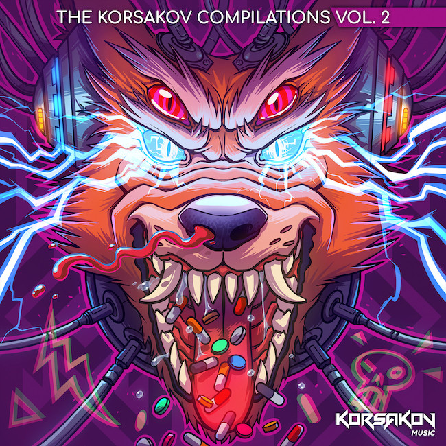 Korsakov Music The Korsakov Compilations Vol. 2// Various Artists// Neurofunk XXX