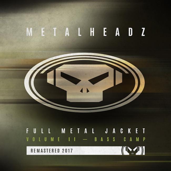METALHEADZ  🇬🇧 FULL METAL JACKET VOLUME II - BASS CAMP REMASTERED / GOLDIE & SKEPTA - UPSTART