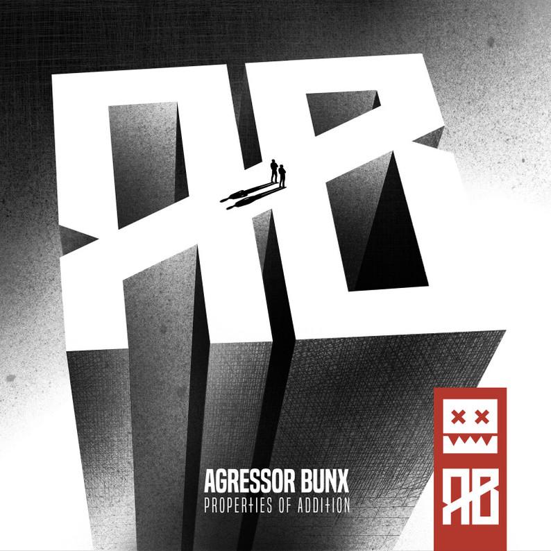 """Agressor Bunx - Properties of Addition Full    LP""  Eatbrain x x"