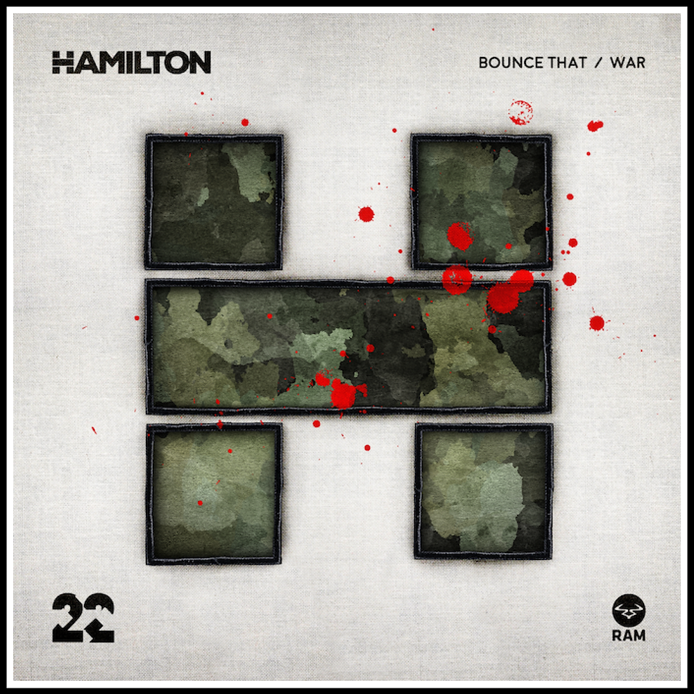 HAMILTON WAR EP RAM RECORDS