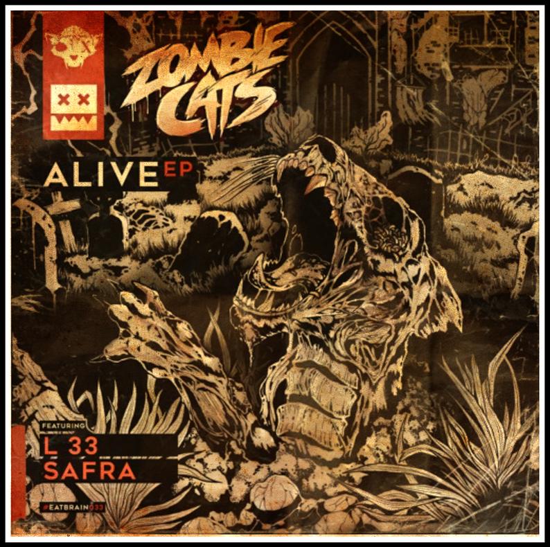Eatbrain Zombie Cats - Alive EP