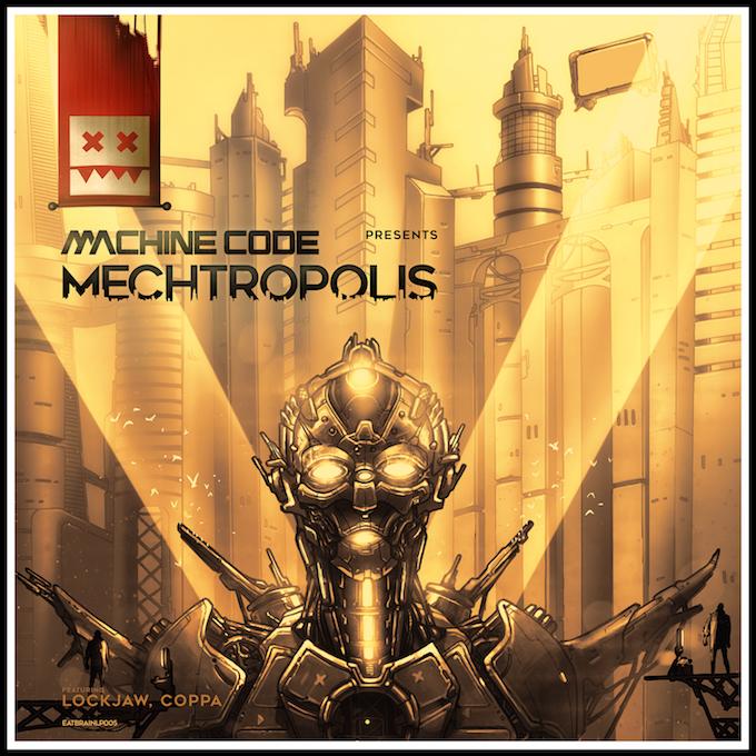 'Mechtropolis' LP (Eatbrain)