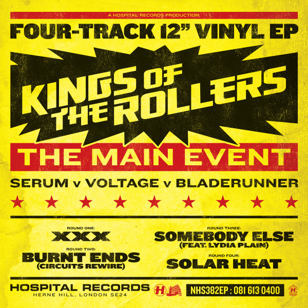 Kings Of The Rollers - The Main Event EP//Med School: Graduation (Album Mini-Mix) [Mixed by Whiney]