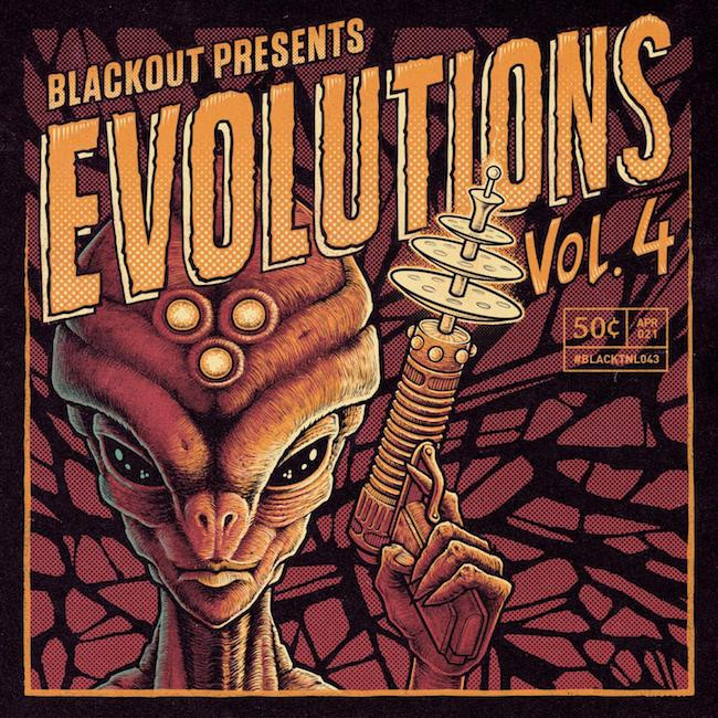 Blackout  Music ⚡︎ Presents                     Evolutions Vol. 4 ☆☆☆☆