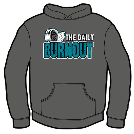 The Daily Burnout 50/50 Blend Pullover Hoodie $40.00