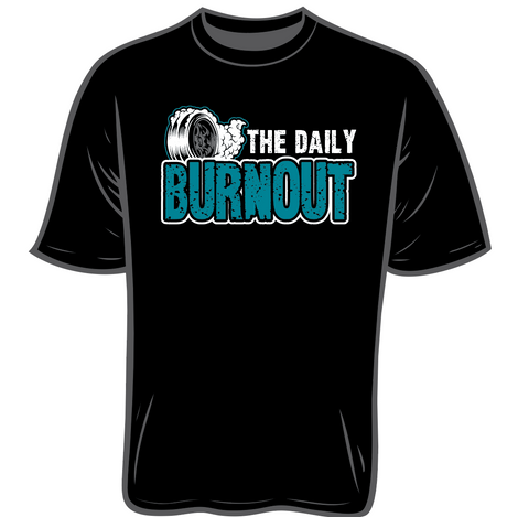 The Daily Burnout Unisex Cotton T-Shirt $22.00