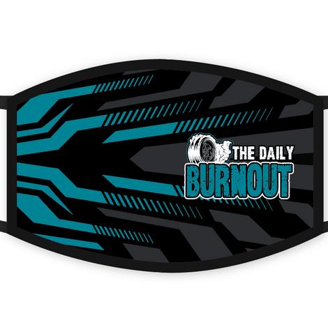The Daily Burnout USA Made Custom Mask $20.00