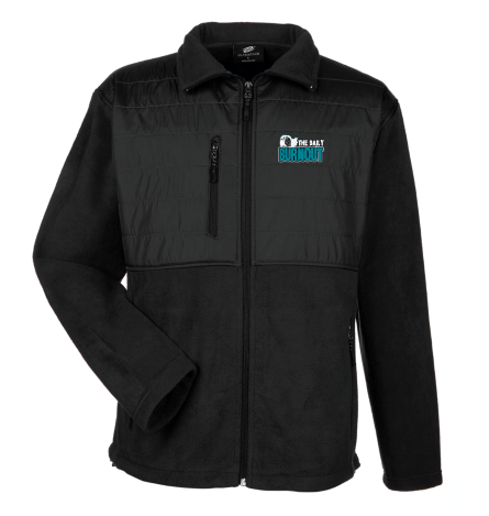 The Daily Burnout Quilted Fleece Jacket $80.00