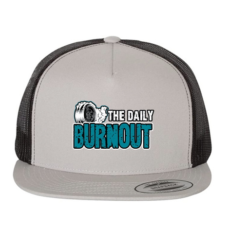 The Daily Burnout 5 Panel Trucker Hat $25.00