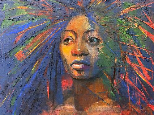 2020, Jory Mason, Mixed Media - oil cold wax pastel, 16 x 18