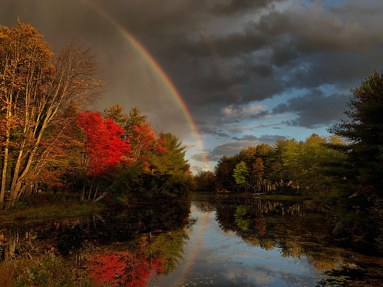 """Rainbow"", Photography, 13""x16"""
