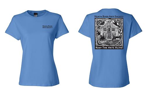 Keep the Arts Alive Womens T-Shirt