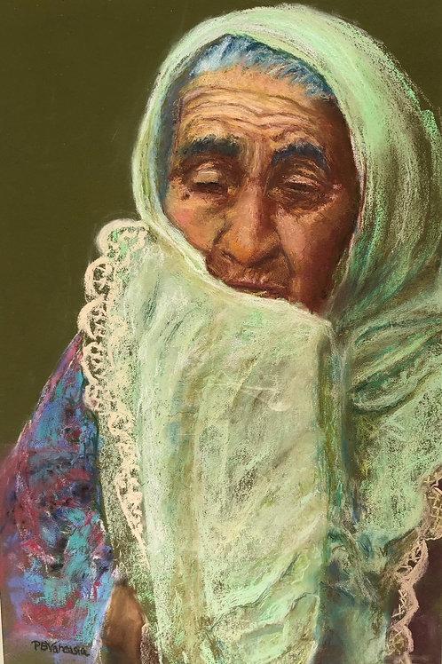 Hopeful, Patricia Varcasia, Pastel - , 21 x 12