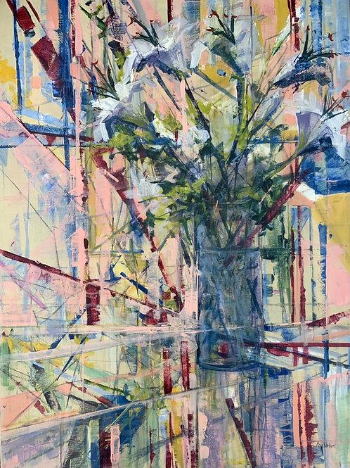 In Bloom, Tina Watson, Acrylic - , 40 x 30