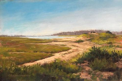 Sunday Walk Rexhame, Donna Rossetti-Bailey, Pastel - , 12 x 18