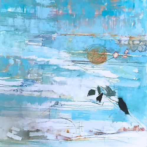 Cadence, Jan McElhinny, Oil -  oil,  30 x 30
