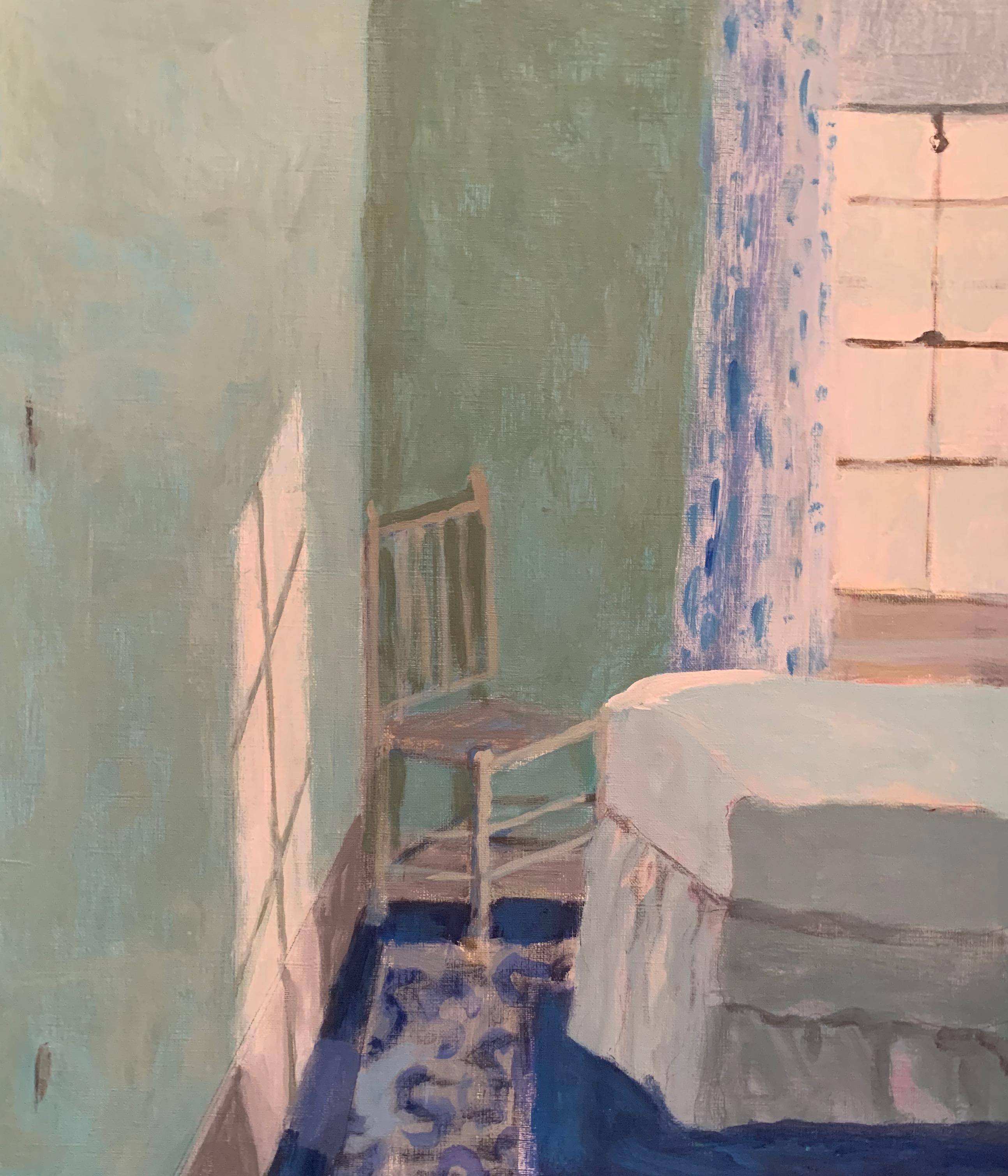 """Room by the Sea"", Acrylic, 20""x16"""