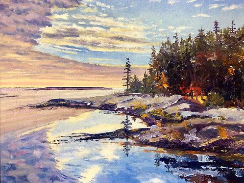 Reid State Park, Paul McMahan, Oil - , 24 x 30