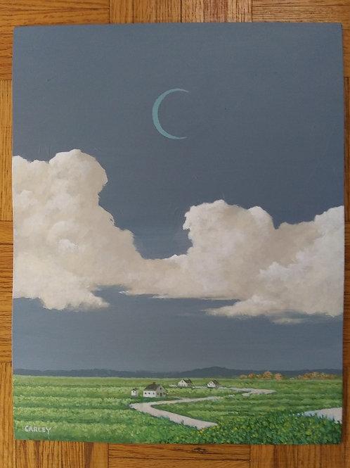3 Home Valley, Paul Carley, Acrylic - , 14 x 11
